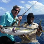 Bill Boyce Ultra Light Tackle on Bite Me Gamefishing Charter