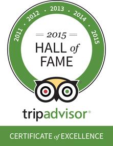 Tripadcisor Hall of Fame