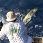 Deckie Joe leadering a Yellowfin Tuna