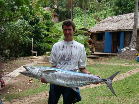 Fiji national line class records narrow barred mackeral for Alabama game and fish regulations