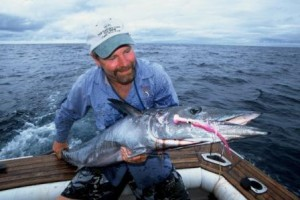 Cam Sigler Jr with a great Wahoo on fly